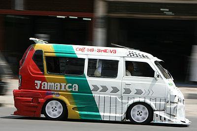 Gambar modifikasi Mobil Angkot