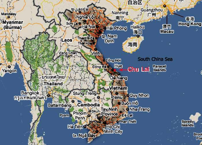 UFOs Lights In The Texas Sky Vietnam Veteran Remembers UFO - Longitude and latitude of vietnam