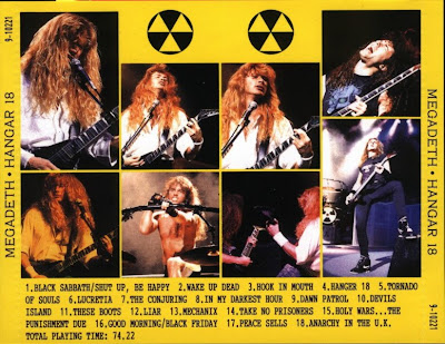 Megadeth - Live At Festival Hall (Osaka, Japan 02-21-91) (Hanger 18) H18b