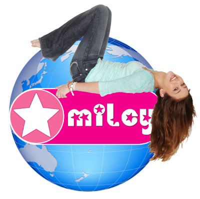 miley world logo splash