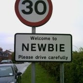 Caution newbies lurking