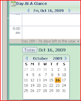 Lotus Notes Day at a Glance