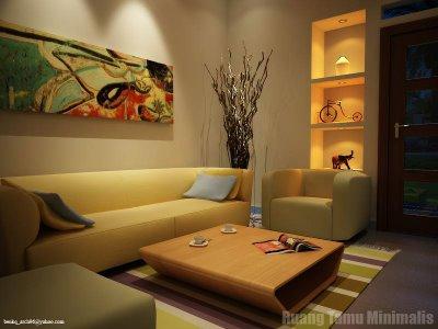 adhyarch: konsep ruang tamu