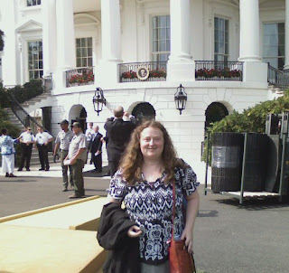 Me at White House