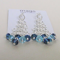 Chainmaille Earrings by MagsBeadsCreation