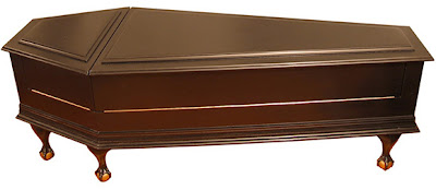 GEEKOUT Coffin Couch Coffee Table