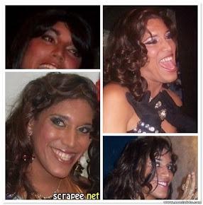 Drag queen Scarleth Sangalo: Linda, divertida e muitooo simpática, essa drag é das melhores!!