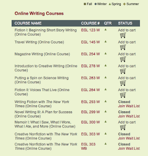 Fiction Writing Classes Online