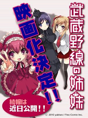 Musashino-sen no Shimai a la acción real Musasino