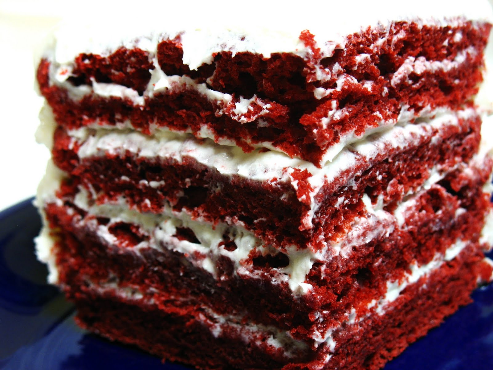 ... red velvet cake but why it s basically a chocolate cake with red food