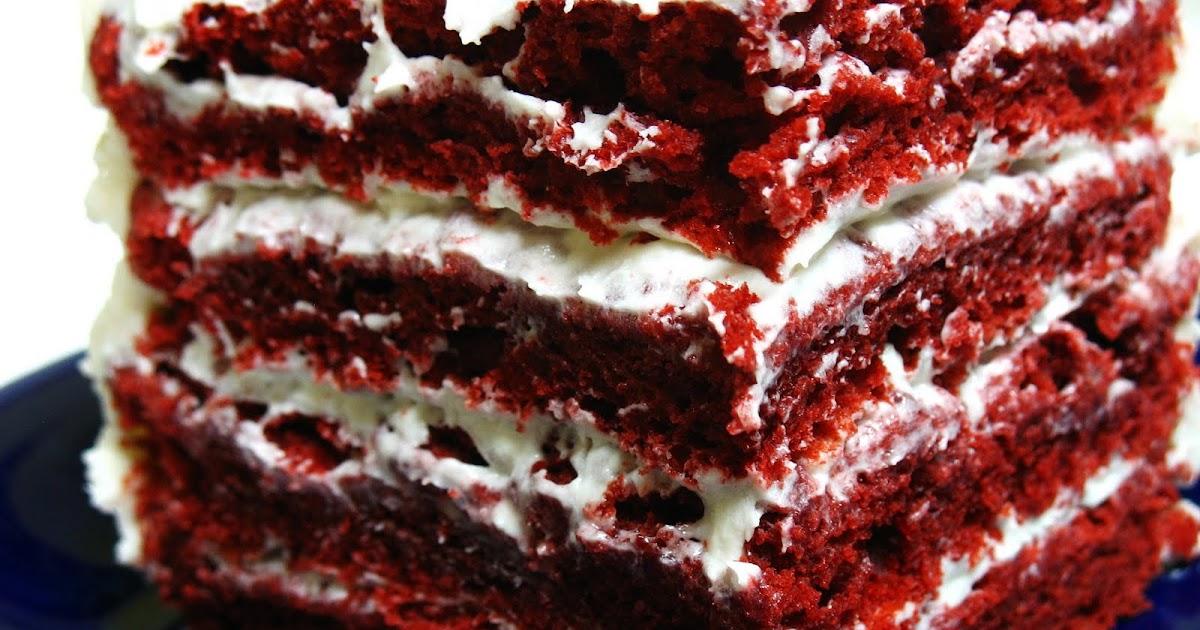 Gluten Free Red Velvet Cake No Xanthan Gum