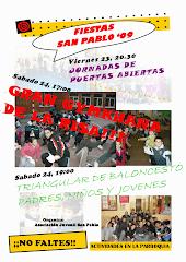 CARTEL FIESTAS SAN PABLO