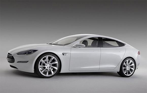 Tesla Model S EV Sedan Has Tesla Motors completed its first