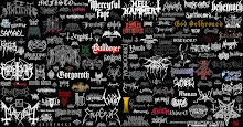 LOGO BLACK METAL