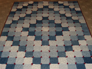 diy quilt rag whoot jeans rug easy crafty instructions news ideas corner denim tutorial video