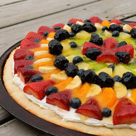 fruit that starts with p easy fruit pizza