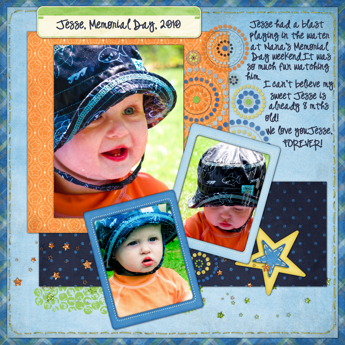 Journey scrapbook ideas - I Did It A Real Scrapbook Page