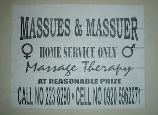 masseur masseuse