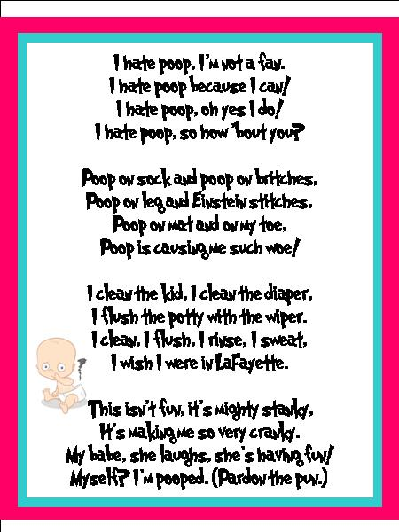 ... poetry in the style of dr seuss cause nothing says poop poem like ole