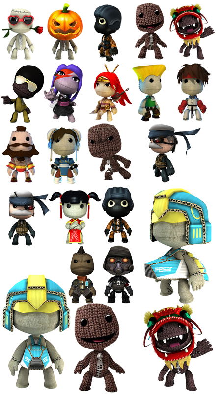 Little Big Planet Icon Pack By Mike Whitford