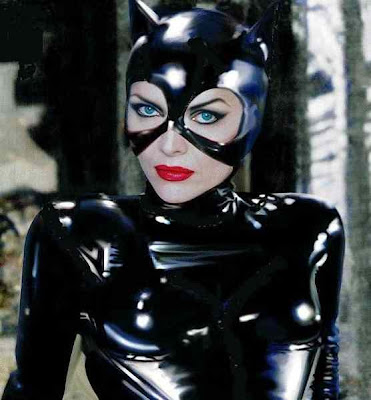 catwoman makeup. michelle as cat woman?