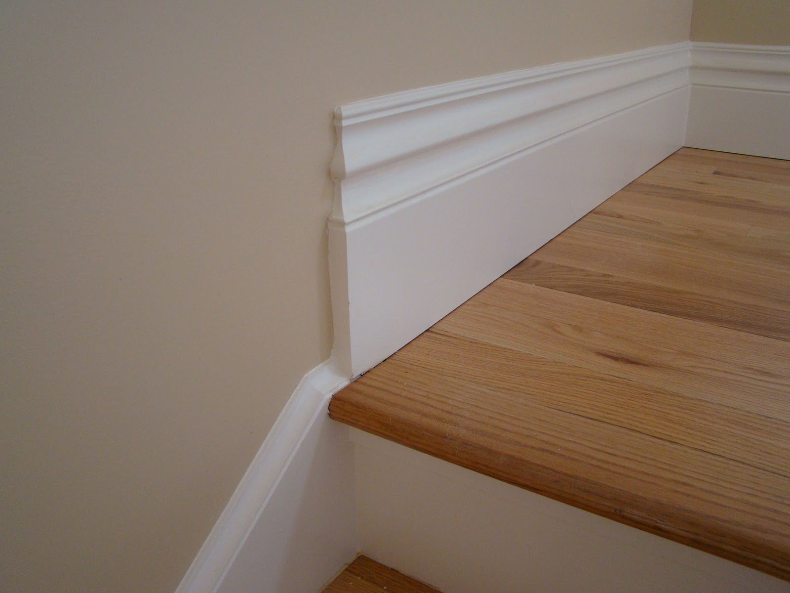 In The Main Level, We Were Trying To Match The Existing Trim In The Old  Part Of The House. We Were Unable To Find The Same 100 Year Old Tall Curvy  Profile, ...