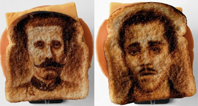 Famous People On Bread's Surface Seen On  www.coolpicturegallery.net