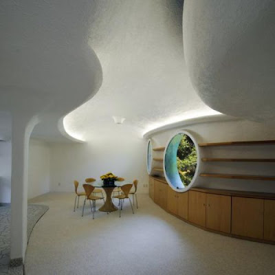 Unusual house, built in the form of a snake Seen On  www.coolpicturegallery.us