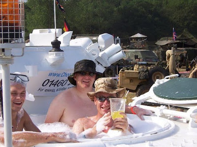 There was a tank, and became a wedding limo Seen On  www.coolpicturegallery.us