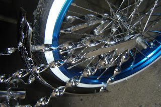 Lowrider Bike Collection Wheels And The Twisted Springer Fork