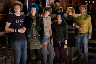 ScottPilgrimCastStill - 64 hit combo! Dave ha visto Scott Pilgrim Vs The World!!!