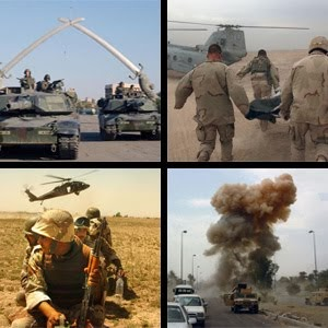 us invasion of iraq Causes of 2003 us iraq war  topics: united  the first was an invasion of ba'athist iraq starting on 20 march 2003 by an invasion force led by the united states.