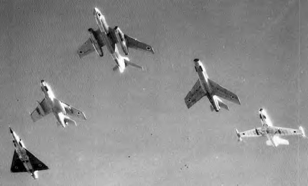 Six Day War Israeli Preparations For War Before The War Israeli Pilots And Ground Crews Had Trained Extensively In Rapid Refitting Of Aircraft Returning