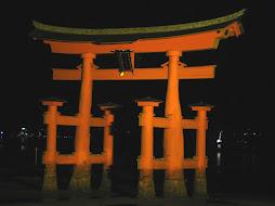 Tori Gate on Miyajima Island