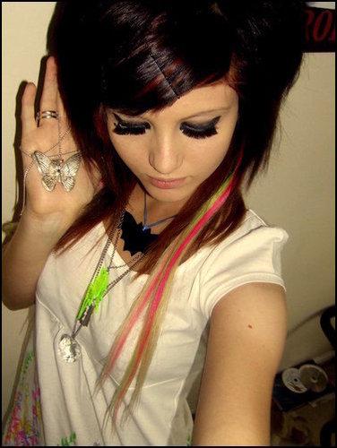 scene hair for girl