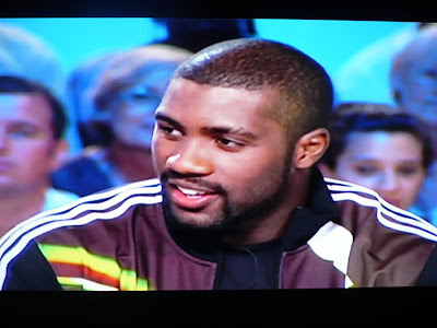 les3bandes la veste adidas de teddy riner au grand journal de canal. Black Bedroom Furniture Sets. Home Design Ideas
