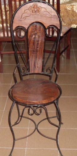 Ideas en hierro forjado sillas en hierro forjado - Colgadores de hierro forjado ...