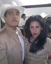 Santos Luzardo y Doña Barbara : La Primera Actriz Perla  Abboud y yo