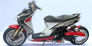 Modification Yamaha Mio Soul Sokbrekers
