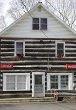 Ancestor's 1804 Log Home in February 2009