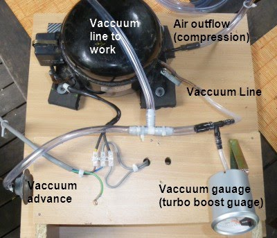 The 'Dart-Boards' Project: Vacuum pump Part 3 - constuction