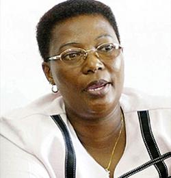 MDC VICE-PRESIDENT THOKO KHUPE!