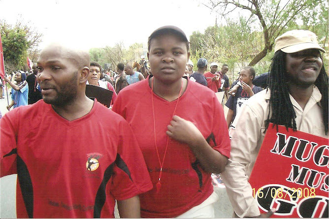 "A FEW OF THE PHOTOS TAKEN AT THE "" COSATU AND AFILLIATES"" DEMO ON SAT, 16th AUGUST 2008, SANDTON."