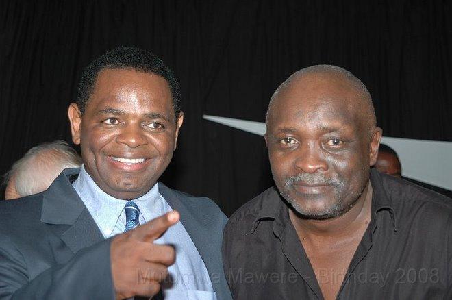 BUSINESSMAN M MAWERE & REV MUFARO HOVE
