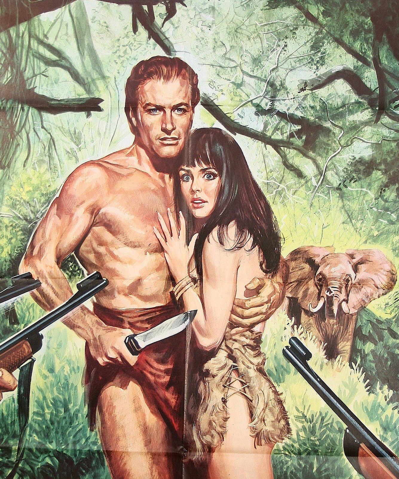 Tarzan%252B %252BPoster%252BLex%252BBarker free porn cartoon free 3d porn galleries from   3dlovedolls, 3dshemales and ...