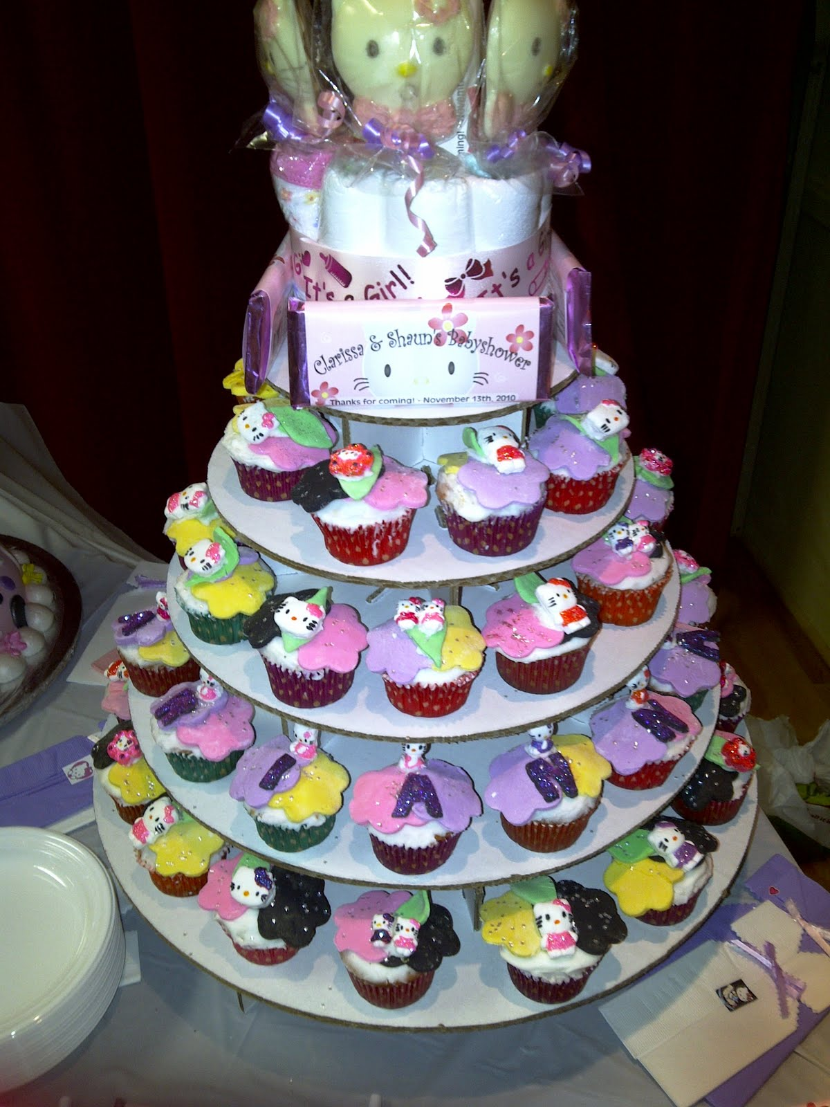 hello kitty baby shower cakes it was a hello kitty themed