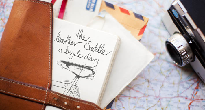The Leather Saddle a bicycle diary