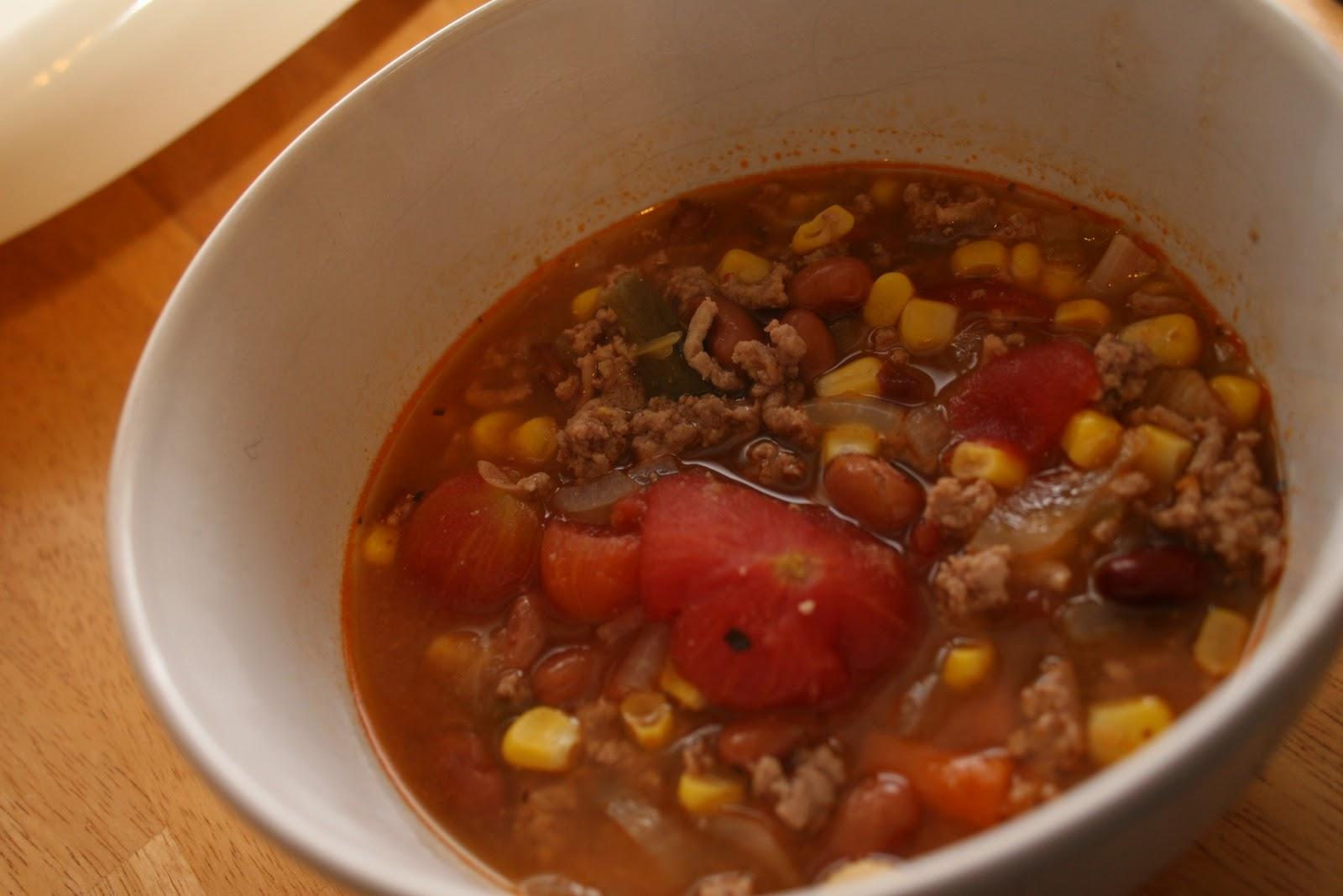 The Hunger Extinguisher: Minestrone Stew