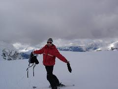 Me...on skis!