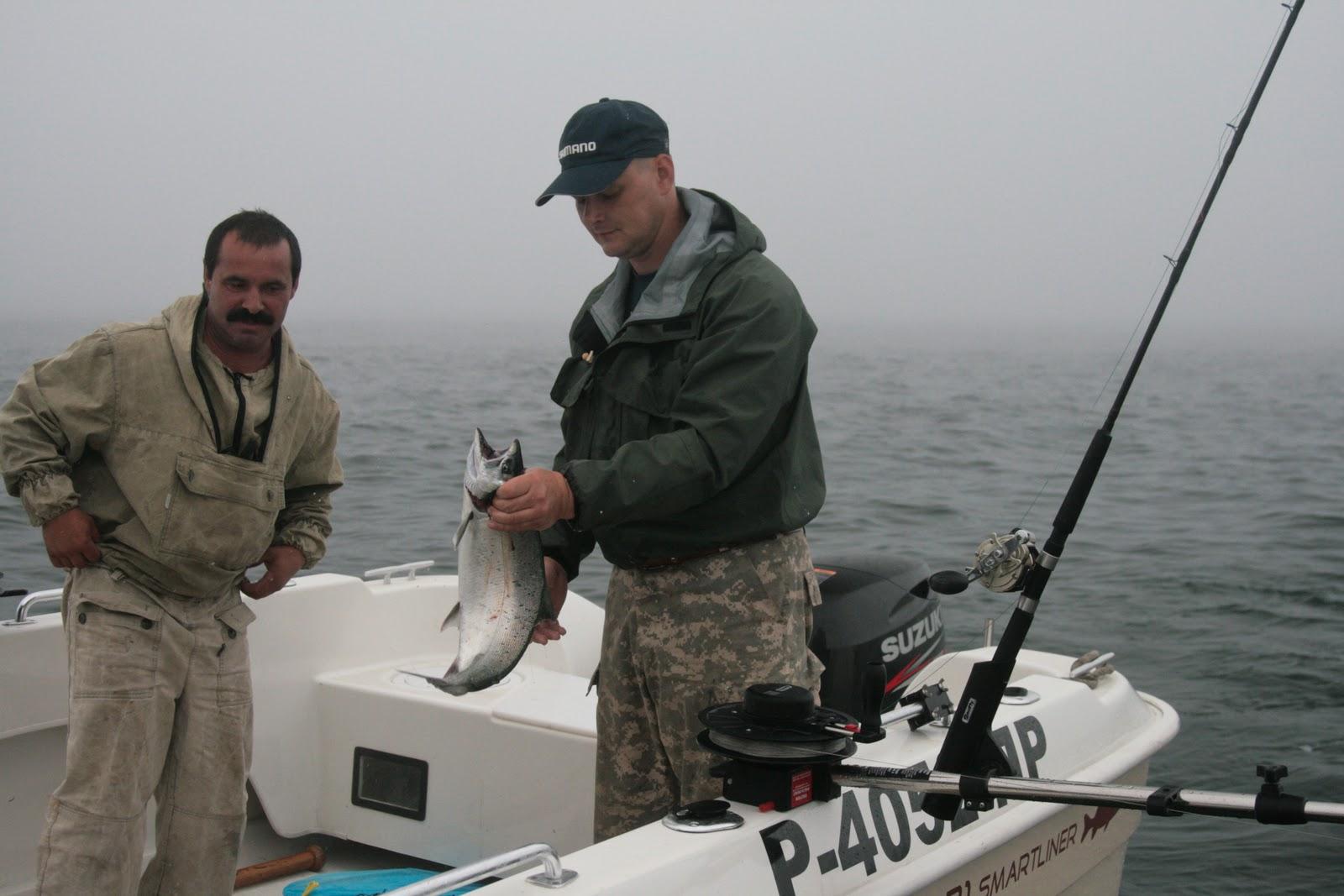 видео рыбалка в заливе петра великого